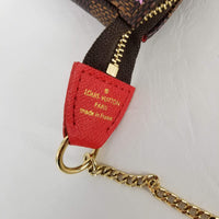 Authentic Louis Vuitton Vivienne Illustre Mini Pochette - Red