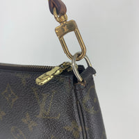Authentic Louis Vuitton Vintage Monogram Pochette Accessoires