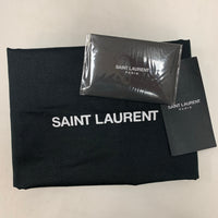 Authentic Saint Laurent Storm Grey Top Handle LouLou