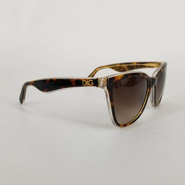 Authentic Dolce & Gabbana Tortoiseshell Cat Eye Sunglasses DG4193