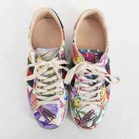 Authentic Gucci *RARE* 2016 Ltd. Ed. Gucci Garden Ace Trainers