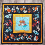 Authentic Hermes Silk Scarf