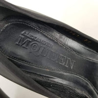 Authentic Alexander McQueen Black Ballet Style Pumps