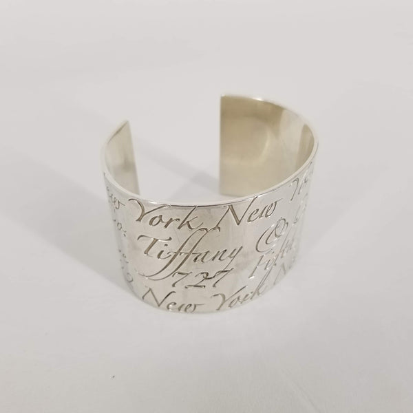 Authentic Tiffany & Co. Silver Notes Cuff