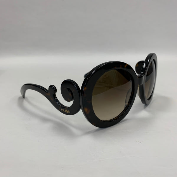 Authentic Prada Tortoiseshell Baroque Sunglasses