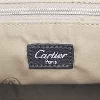 Authentic Cartier Vintage Brown Marcello Tote