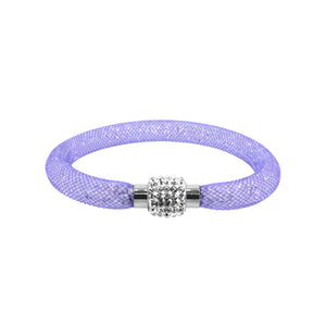 City Chic Lilac Stardust Bracelet with Sparkly Clasp