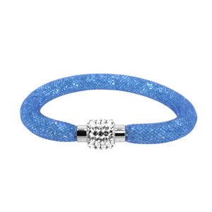 City Chic Light Blue Star Dust Bracelet with Sparkly Clasp