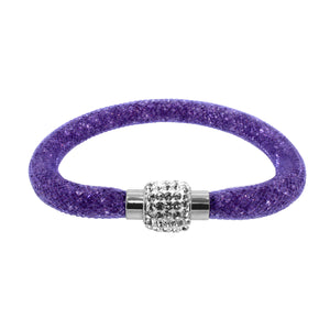 City Chic Purple Star Dust Bracelet with Sparkly Clasp