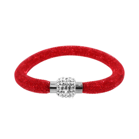 City Chic Red Star Dust Bracelet with Sparkly Clasp