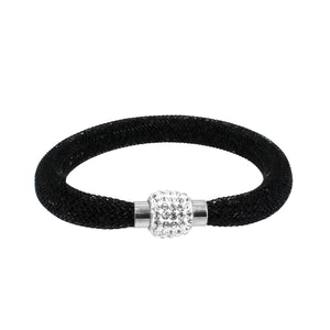 City Chic Black Star Dust Bracelet with Sparkly Clasp