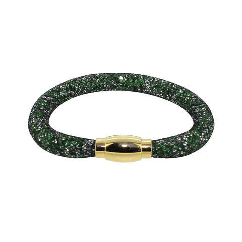 City Chic Green and Crystal Star Dust Bracelet