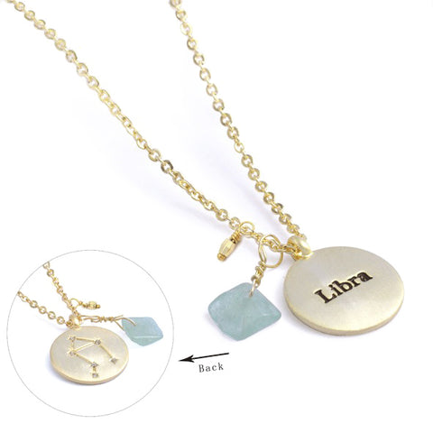 Your Sentiment Zodiac Pendant - Libra