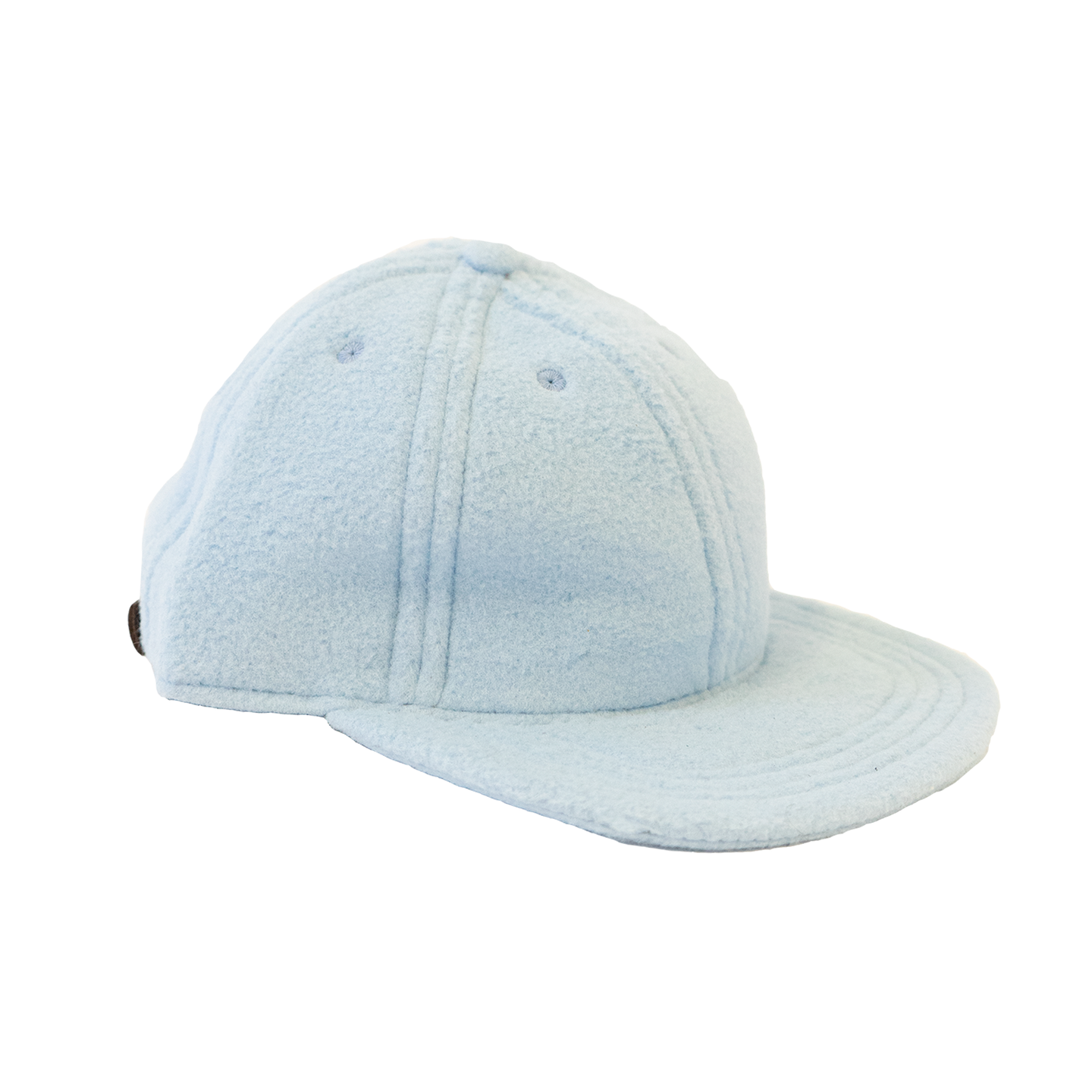 Adjustable Cap in Powder Blue Polartec Fleece