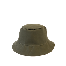 Load image into Gallery viewer, Reversible Bucket Hat - Green and Grey