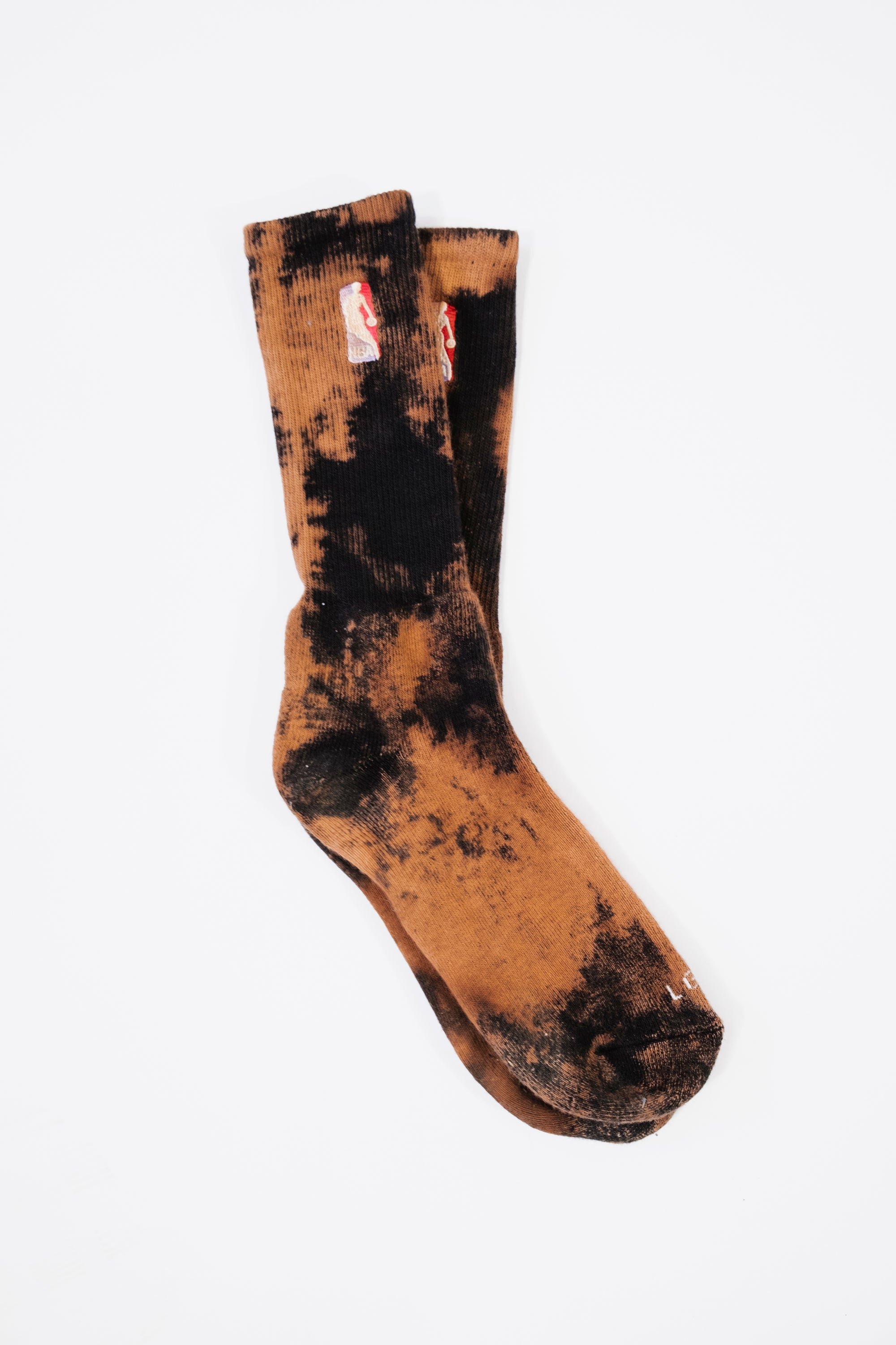 Bleached NBA Sock