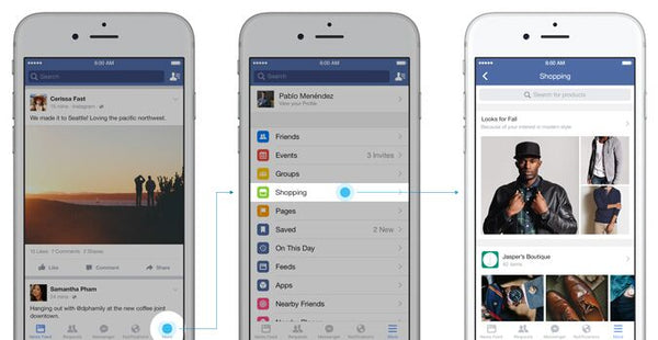 Facebook Shopping per il tuo Business: marketing su Facebook