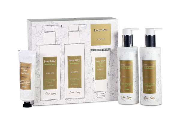 Lime & Basil Body and Nail Care Gift Set