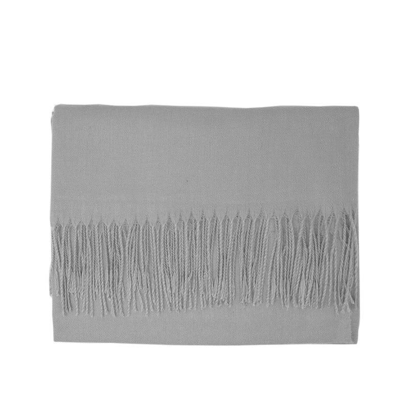Modal Blend Scarf - Light Grey