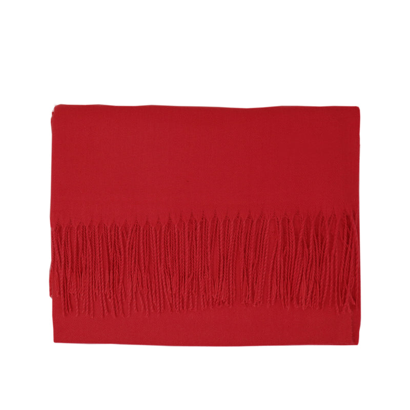 Modal Blend Scarf - Red