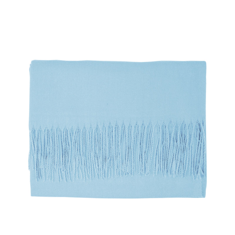 Modal Blend Scarf - Light Blue