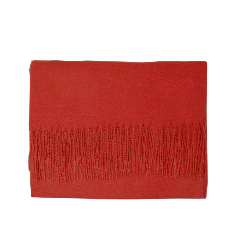 Modal Blend Scarf - Amber Red