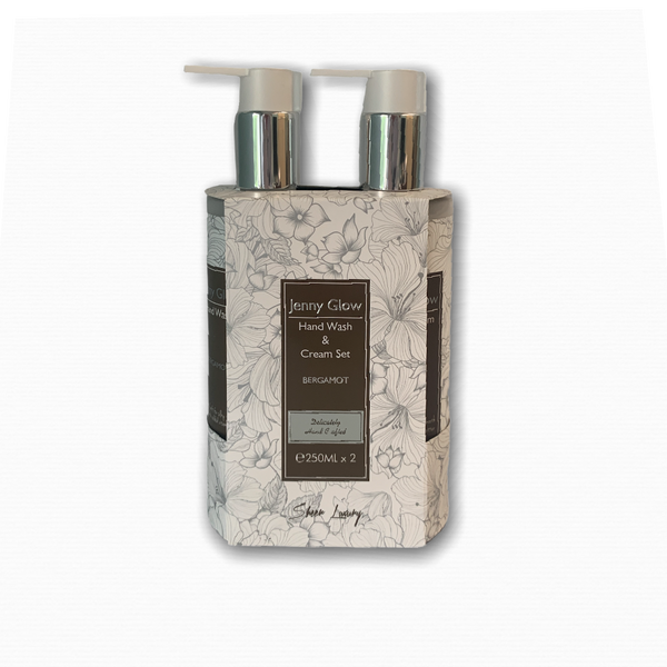 Bergamot Hand wash & Cream Set