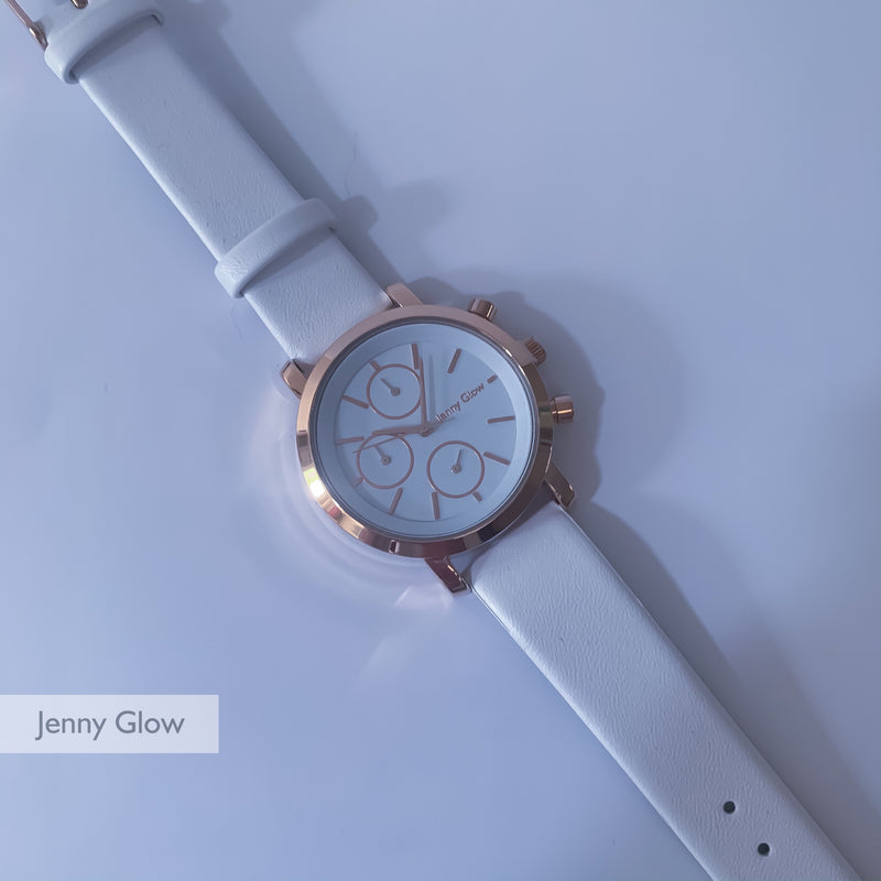 Jenny Glow Ladies Watch 3123 White