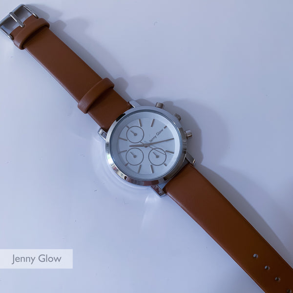 Jenny Glow Ladies Watch 3123 Brown