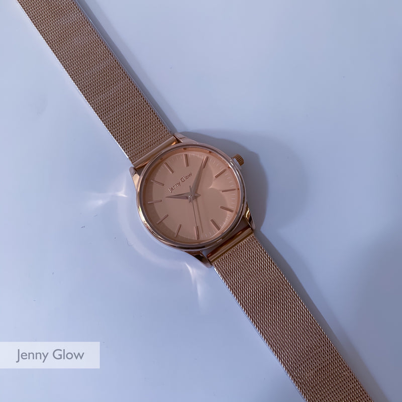 Jenny Glow Ladies Watch 3111 Rose Gold