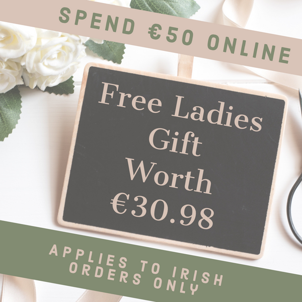 Free gift Irish Orders Only