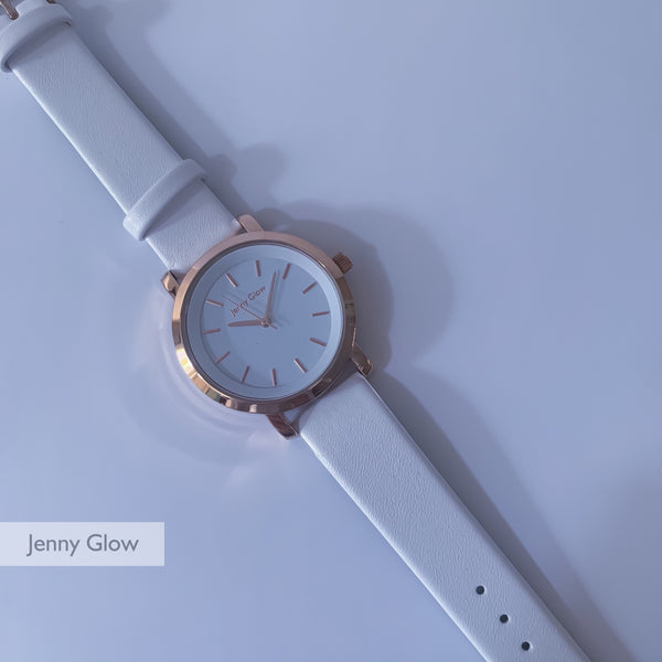Jenny Glow Ladies Watch 3109 White