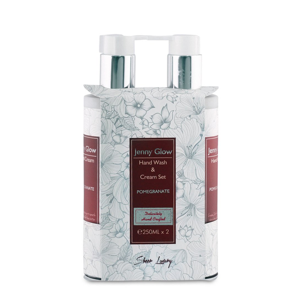 Pomegranate Hand Wash & Hand Cream Set