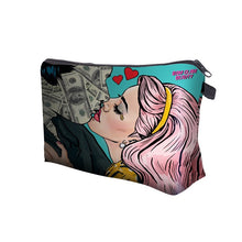 Load image into Gallery viewer, Gold Digger Cosmetic Bag