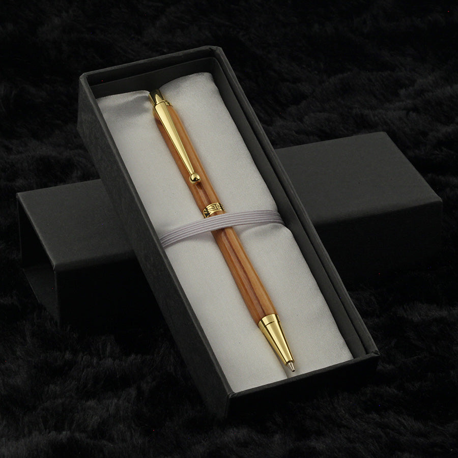 Slimline Mechanical Pencil in Wild Olivewood