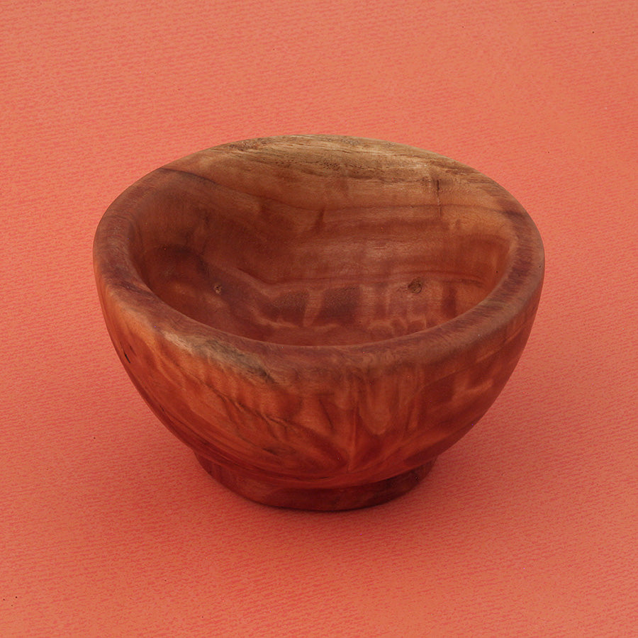 Wooden Bowl in Red Gum Euclyptus