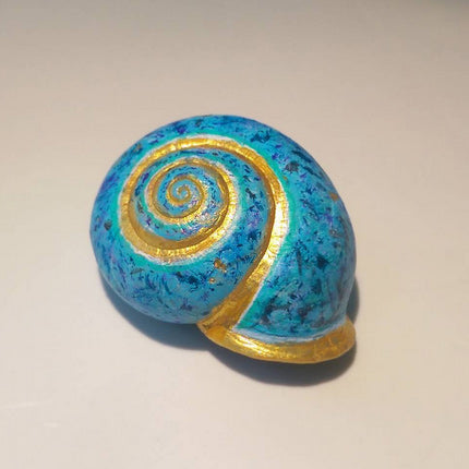 Painted Snail Shell