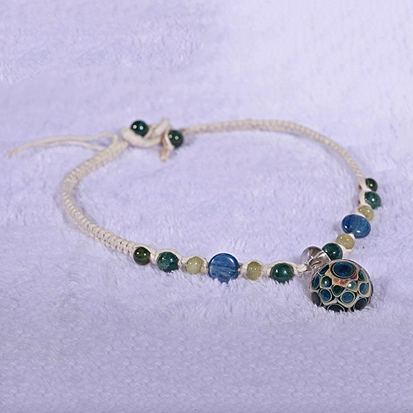 Seven Moons Dot Stack Necklace