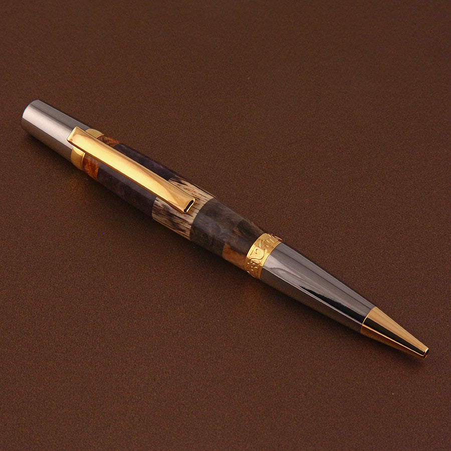 Sierra Elegant Beauty Pen in Segmented Woods