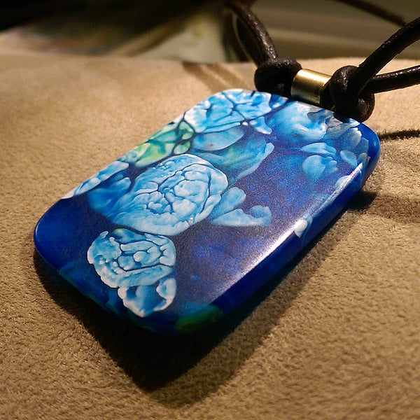Flowers & Clouds Pendant