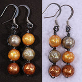 G.S.B. Freshwater Pearl Earrings