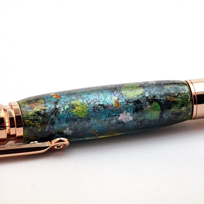 Hand Painted & Resin Cast Koi Pond Pen