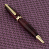 Summit Gold Twist Pen in Purpleheart