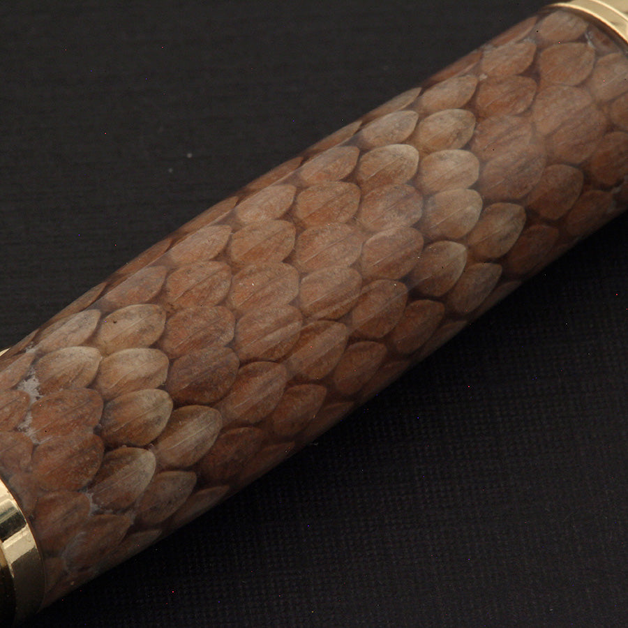 .30 Caliber Pen in Rattlesnake Skin
