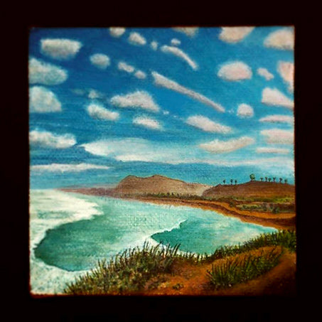 Torrey Pines • Painted Acrylics on Canvas