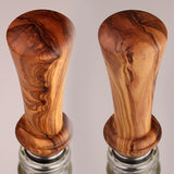 Bottle Stopper in Wild Olivewood
