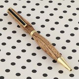 Slimline Twist Pen in Zebrawood