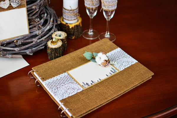 6 Ways to Personalize Your Wedding Guest Book