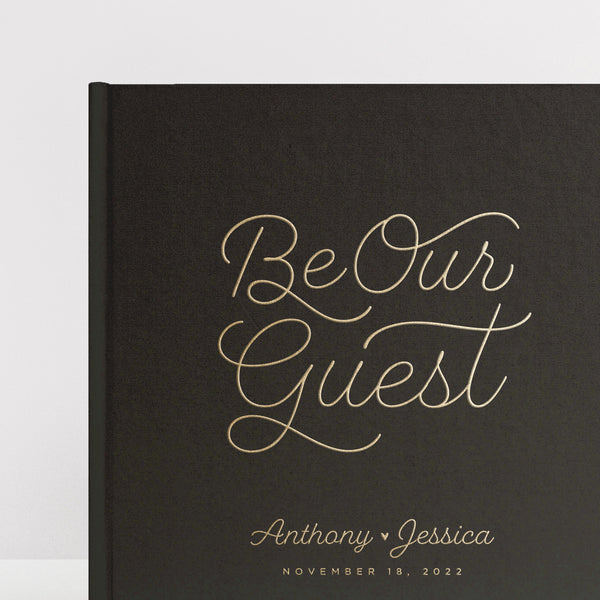 Be Our Guest Guest Book