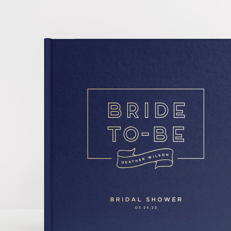 Bride to Be Guest Book